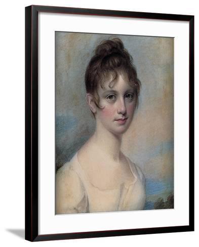 A Young Woman, C.1806-Edward Greene Malbone-Framed Art Print