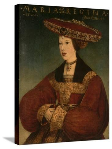 Mary of Austria, C.1520-Hans Maler-Stretched Canvas Print