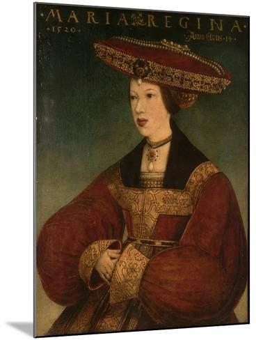Mary of Austria, C.1520-Hans Maler-Mounted Giclee Print