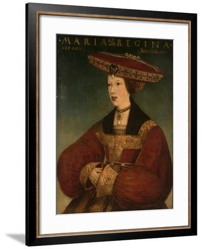 Mary of Austria, C.1520-Hans Maler-Framed Art Print