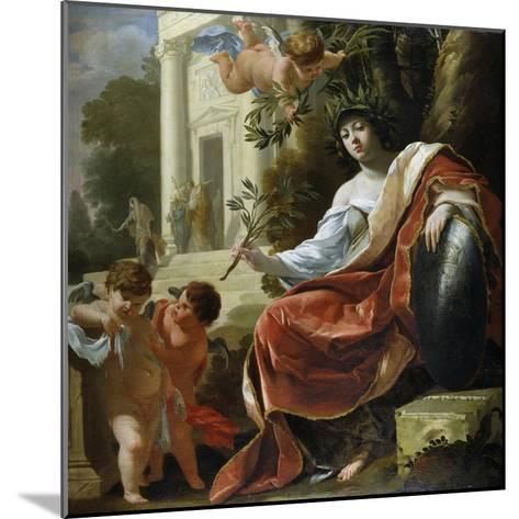 An Allegory of Peace-Simon Vouet-Mounted Giclee Print