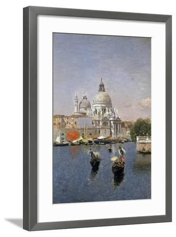 Santa Maria Della Salute, Venice-Martin Rico y Ortega-Framed Art Print