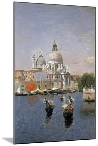 Santa Maria Della Salute, Venice-Martin Rico y Ortega-Mounted Giclee Print