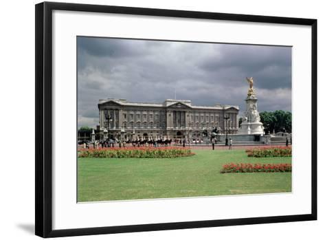 Buckingham Palace--Framed Art Print