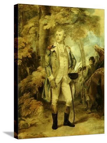 General George Washington-Thomas Stothard-Stretched Canvas Print