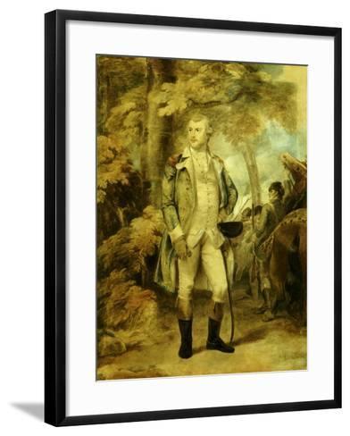 General George Washington-Thomas Stothard-Framed Art Print
