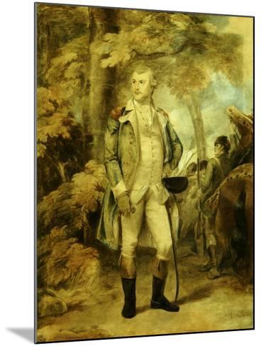 General George Washington-Thomas Stothard-Mounted Giclee Print