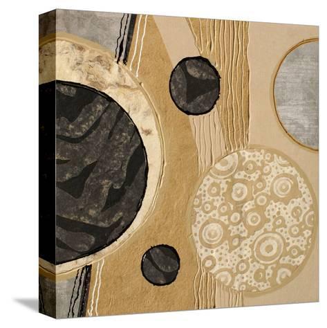 Calm Circles I-Irena Orlov-Stretched Canvas Print