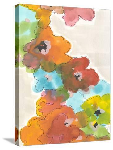 Floral Cascade II-Jodi Fuchs-Stretched Canvas Print