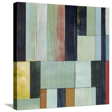 Geometric Conglomeration I-Grace Popp-Stretched Canvas Print