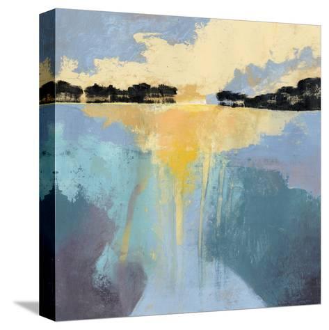 Back Bay Sun I-Grace Popp-Stretched Canvas Print