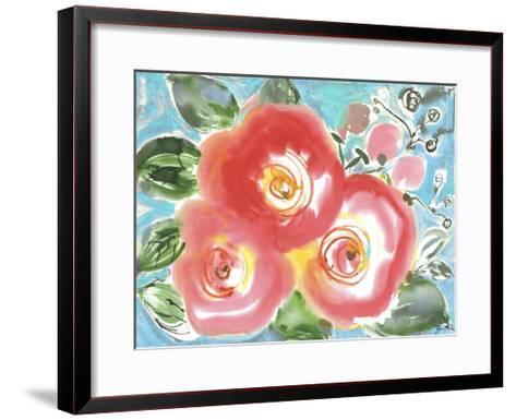 Bed of Roses II-Julia Minasian-Framed Art Print