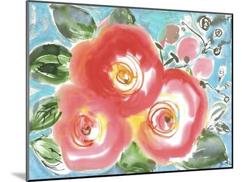 Bed of Roses II-Julia Minasian-Mounted Art Print