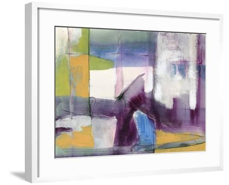 Vibrant Rhythm I-Jennifer Goldberger-Framed Art Print
