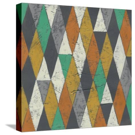 Lucien's Pattern I-Chariklia Zarris-Stretched Canvas Print