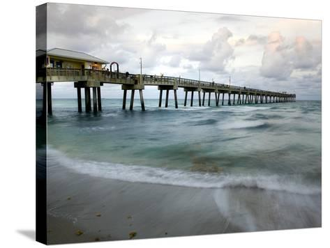 Slow Motion Ocean I-Danny Head-Stretched Canvas Print