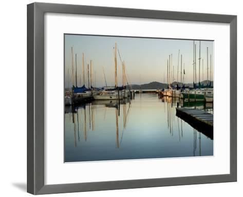 Marina Sundown II-Danny Head-Framed Art Print
