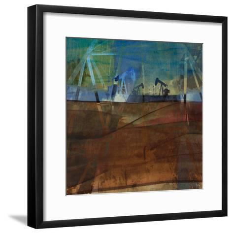 Oil Rig Abstraction II-Sisa Jasper-Framed Art Print