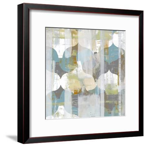 Arabesque Abstract I-Jennifer Goldberger-Framed Art Print
