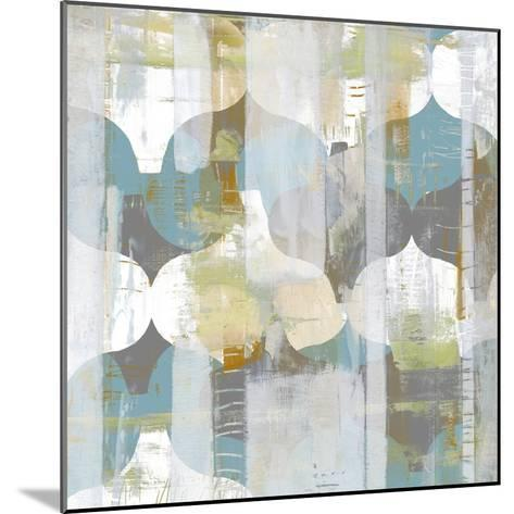 Arabesque Abstract I-Jennifer Goldberger-Mounted Art Print