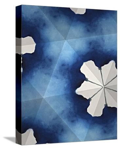 Indigo Daydream IV-Renee W^ Stramel-Stretched Canvas Print