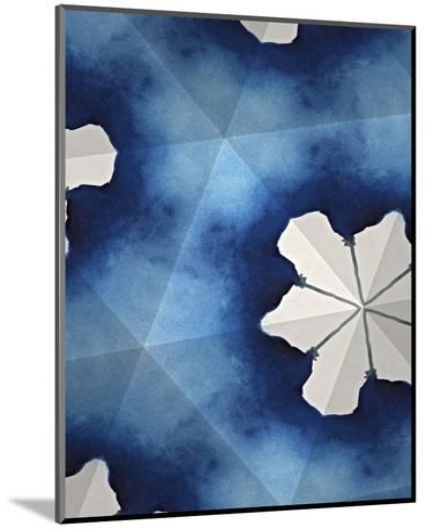 Indigo Daydream IV-Renee W^ Stramel-Mounted Art Print