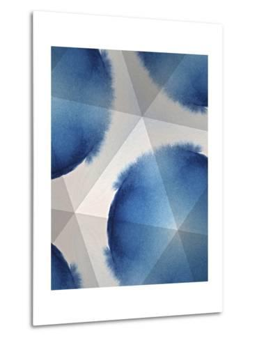 Indigo Daydream VI-Renee W^ Stramel-Metal Print