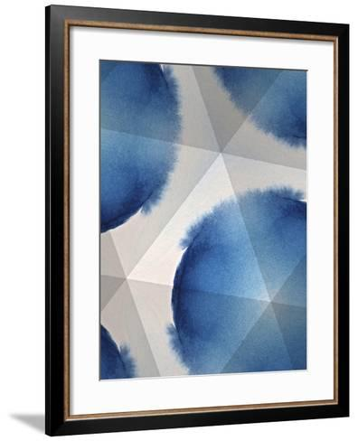 Indigo Daydream VI-Renee W^ Stramel-Framed Art Print