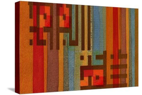 The Language of Color III-Irena Orlov-Stretched Canvas Print