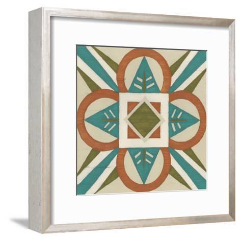 Global Motif VII-June Erica Vess-Framed Art Print