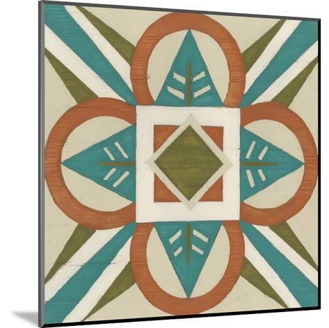 Global Motif VII-June Erica Vess-Mounted Art Print