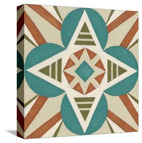 Global Motif IX-June Erica Vess-Stretched Canvas Print