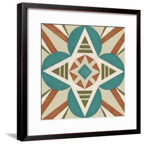 Global Motif IX-June Erica Vess-Framed Art Print
