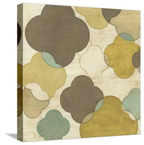 Quatrefoil Overlay II-June Erica Vess-Stretched Canvas Print