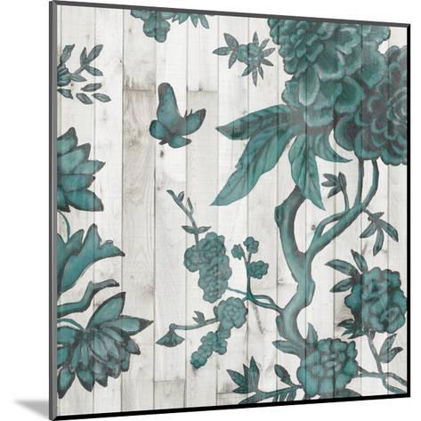 Terra Verde Chinoiserie I-Naomi McCavitt-Mounted Art Print