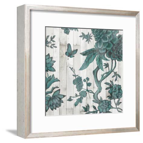 Terra Verde Chinoiserie I-Naomi McCavitt-Framed Art Print