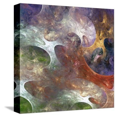 Lunar Tiles III-James Burghardt-Stretched Canvas Print