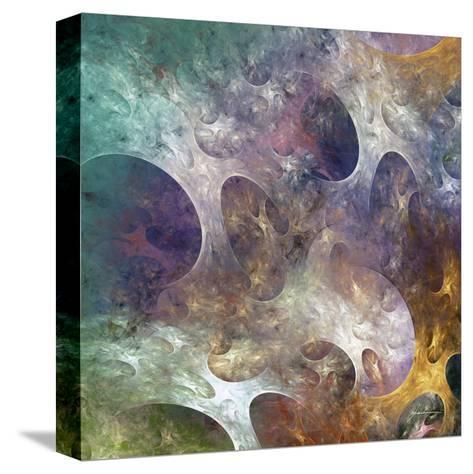 Lunar Tiles IV-James Burghardt-Stretched Canvas Print