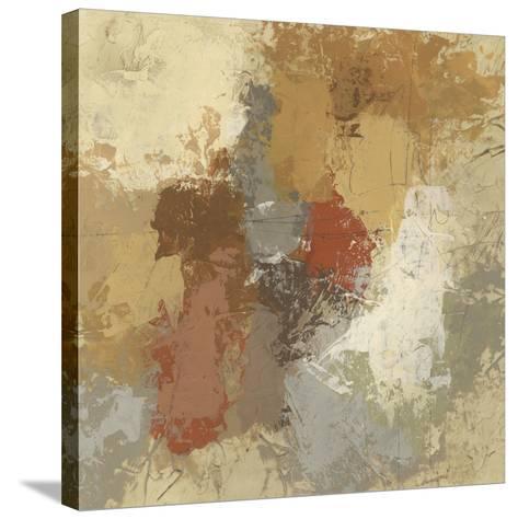 Saffron Fresco II-June Vess-Stretched Canvas Print