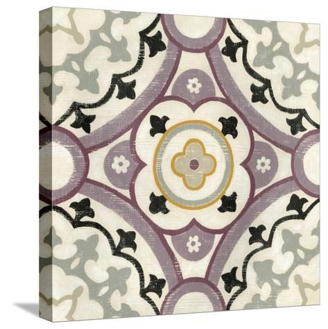 Lavender Suzani II-Chariklia Zarris-Stretched Canvas Print