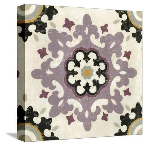 Lavender Suzani IV-Chariklia Zarris-Stretched Canvas Print