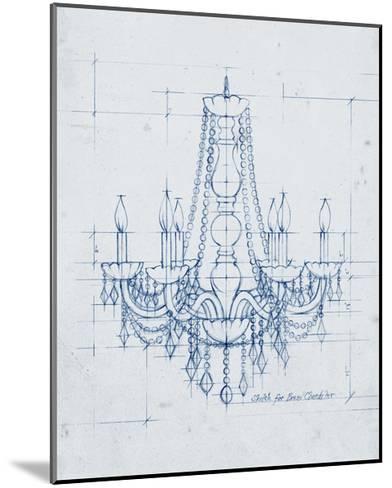 Chandelier Draft IV-Ethan Harper-Mounted Art Print