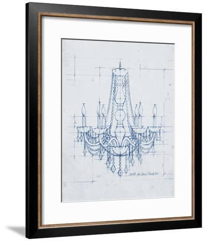 Chandelier Draft IV-Ethan Harper-Framed Art Print