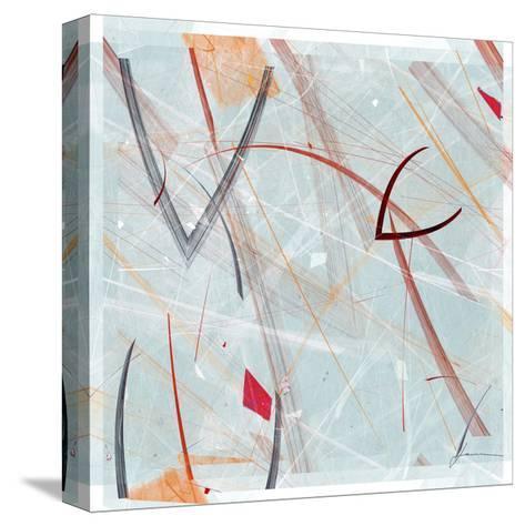Vectora Panel III-James Burghardt-Stretched Canvas Print