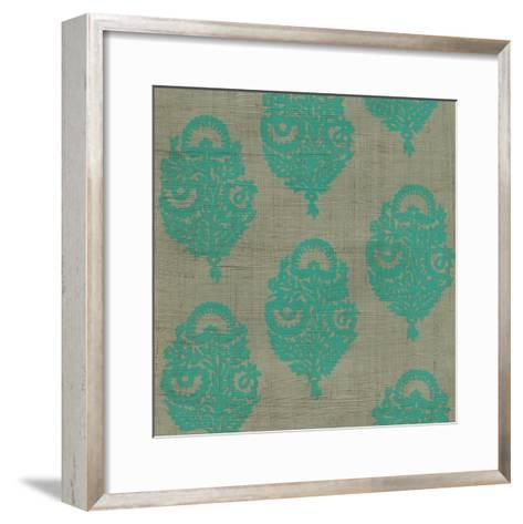 Paradise Paisley II-Chariklia Zarris-Framed Art Print