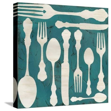 Kitchen Kitsch III-June Erica Vess-Stretched Canvas Print