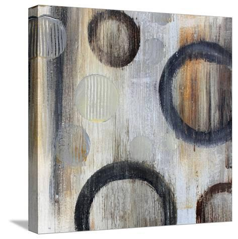 Geometric Abstraction I-Irena Orlov-Stretched Canvas Print