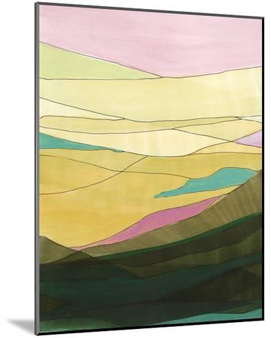 Pink Hills I-Jodi Fuchs-Mounted Art Print