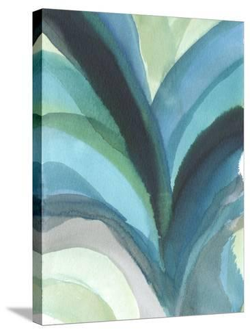 Big Blue Leaf I-Jodi Fuchs-Stretched Canvas Print