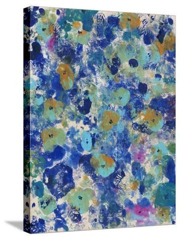 Floral Bright I--Stretched Canvas Print